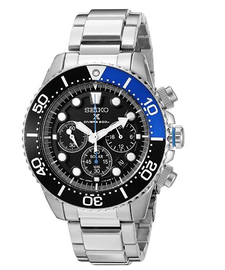 9.Seiko Men's SSC017 Prospex Dive Watch